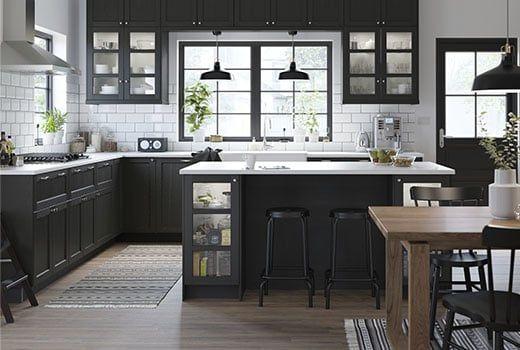 Meubles De Cuisine Pas Cher Portes Cuisine Metod Ikea