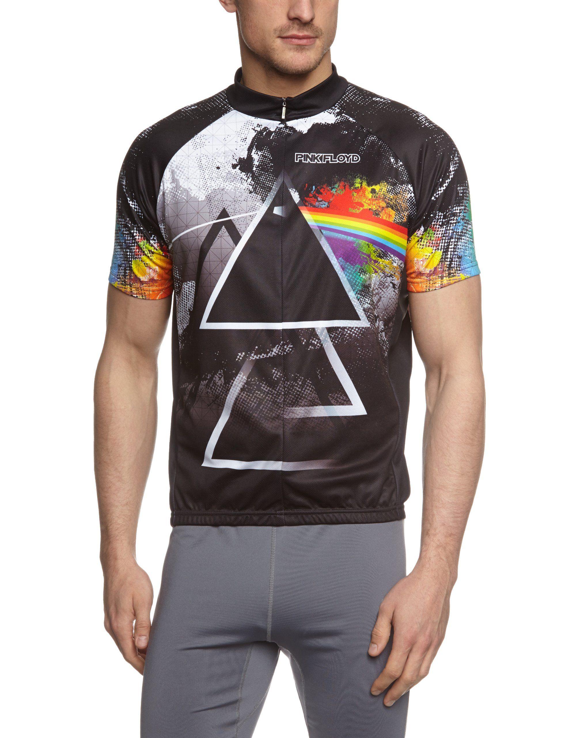 Primal Wear Men s Pink Floyd Triad Cycling Jersey 935a9fb6e