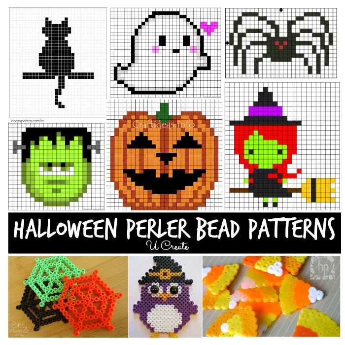 Halloween Perler Bead Patterns   Kids Activities   Pinterest ...