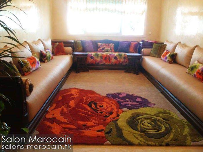 salon marocain moderne 2015 dco salon marocain - Salon Marocain Moderne Enbelgique