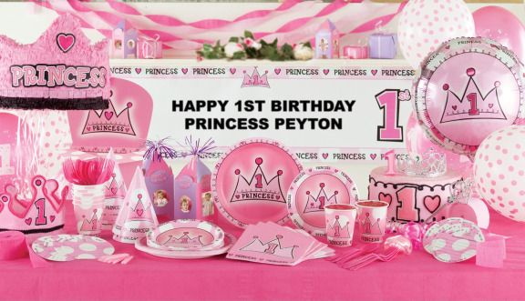 BabyBirthdayPartyIdeas 1st Birthday Party Theme First