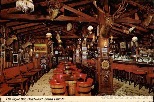 Pleasing Old Style Bar Deadwood South Dakota South Dakota Western Ncnpc Chair Design For Home Ncnpcorg