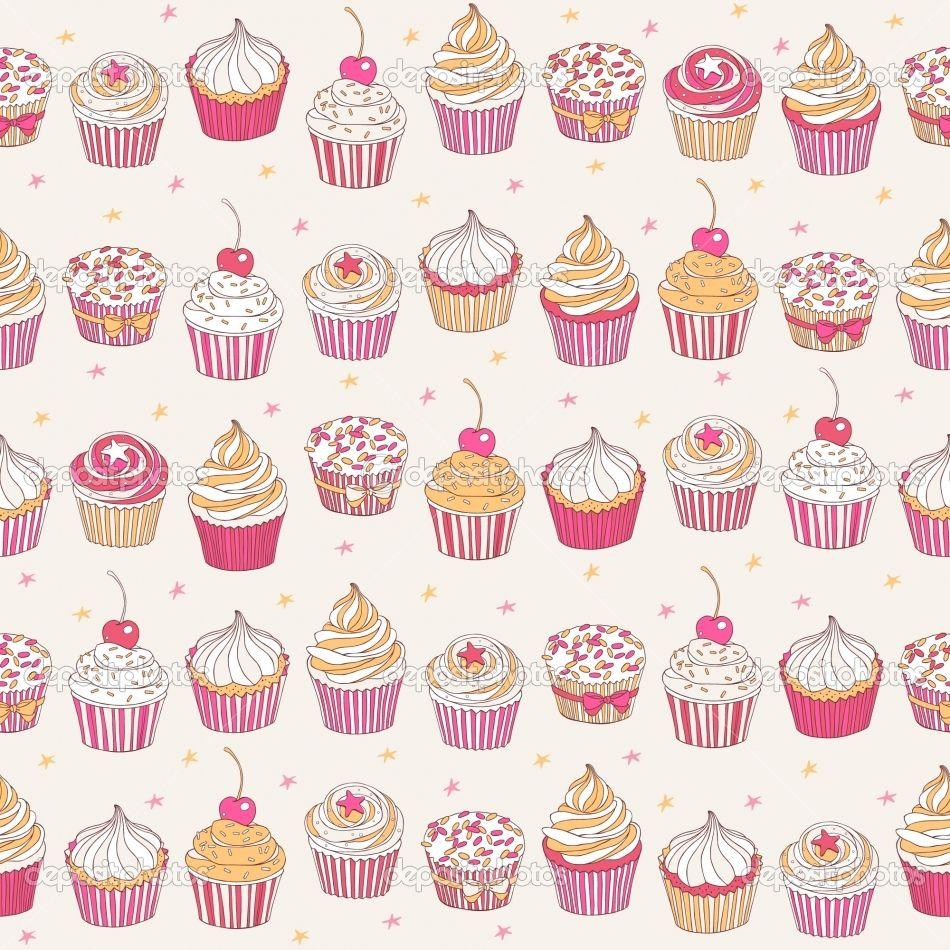 cupcakes desenho vintage pesquisa google iphone wallpapers in