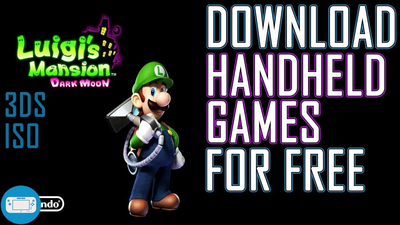 Download Luigi S Mansion Dark Moon For Free 3ds Iso