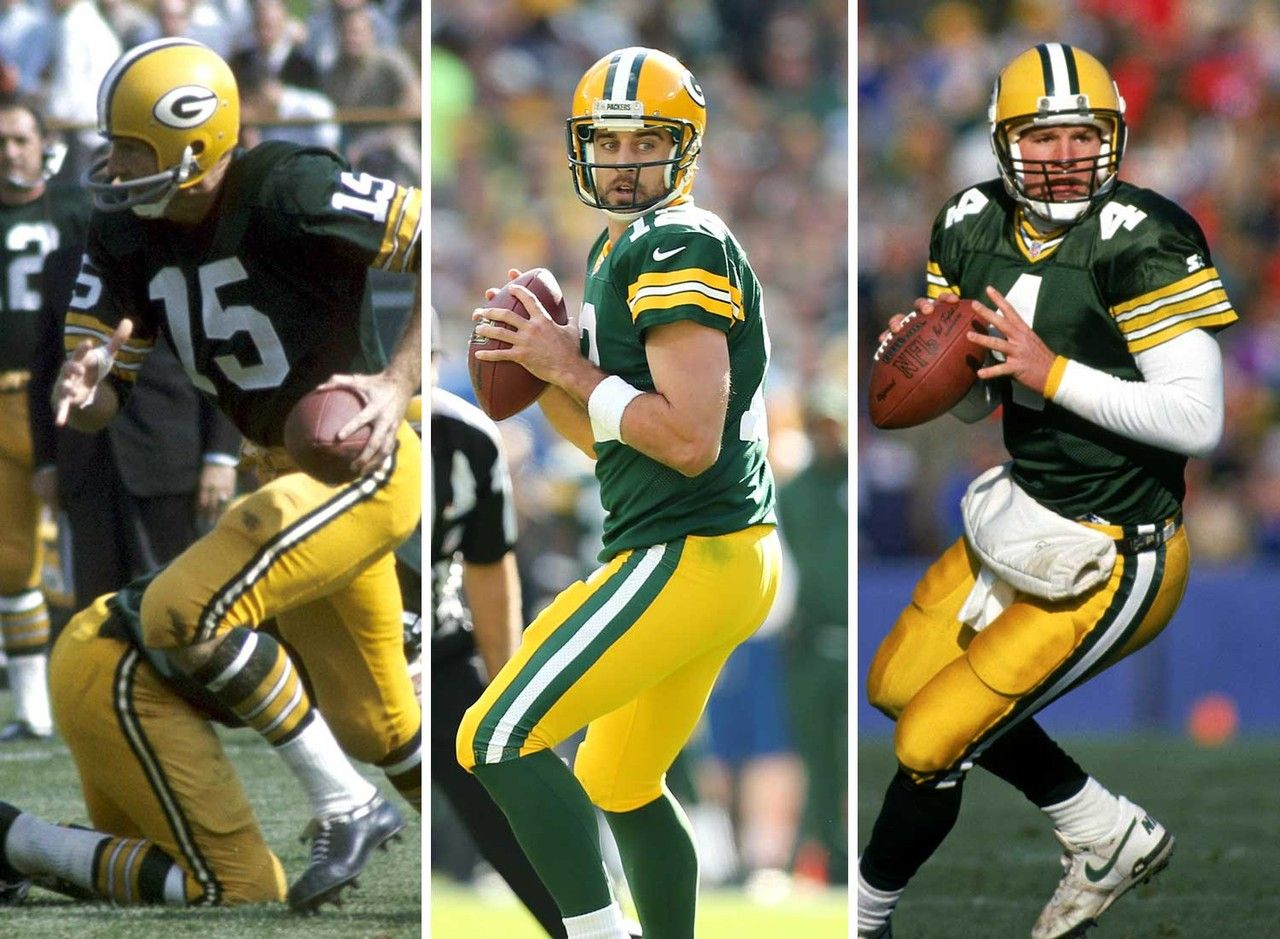 Who Else Could Top The List As The Nfl S Top Quarterback Franchise Packers Bart Starr Aaron Rodgers Brett Favre Quarterback Bart Starr Nfl
