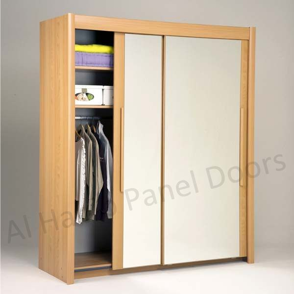 Sliding Two Door Free Standing Wardrobe Hpd518
