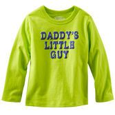 Your OshKosh boy will be part of the super awesome squad in this totally cool neon tee.