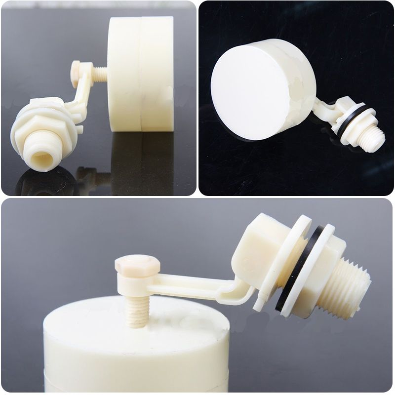 1 2 Plastic Automatic Float Valve Water Level Control Valve For