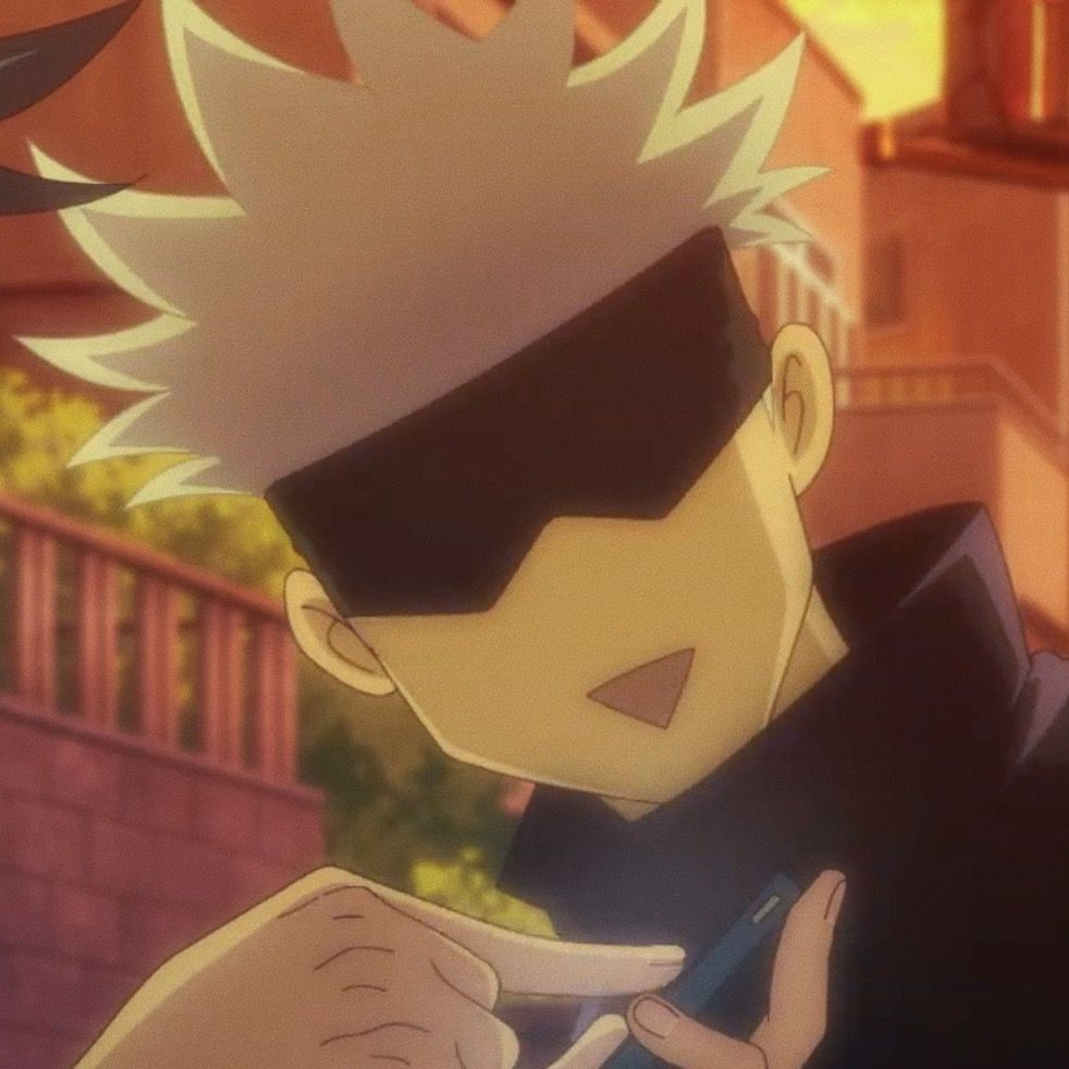 Satoru Icon Jujutsu Anime Funny Anime Pics