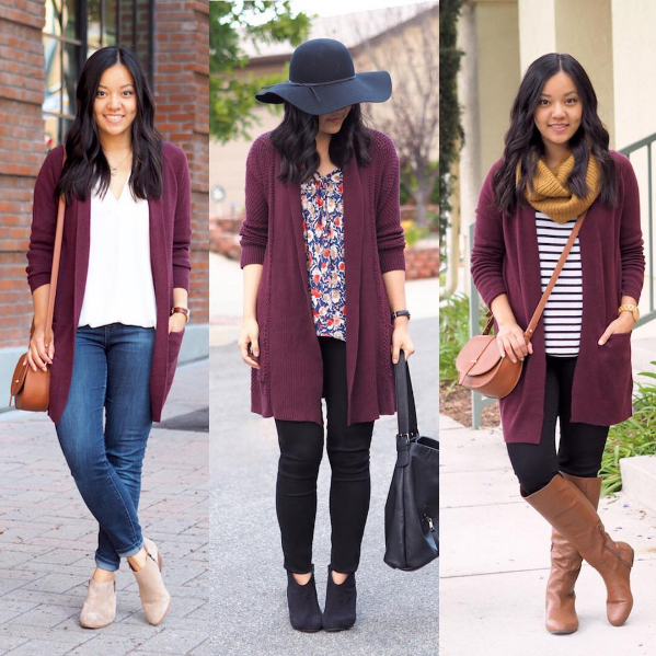 Instagram Outfits #14 + Maroon Cardigan Restocked! - Putting Me Together