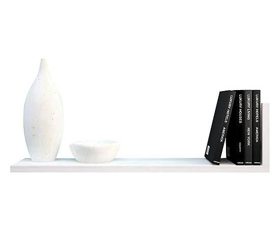 Mensola bianca Elle - 92x22x22 cm 45e