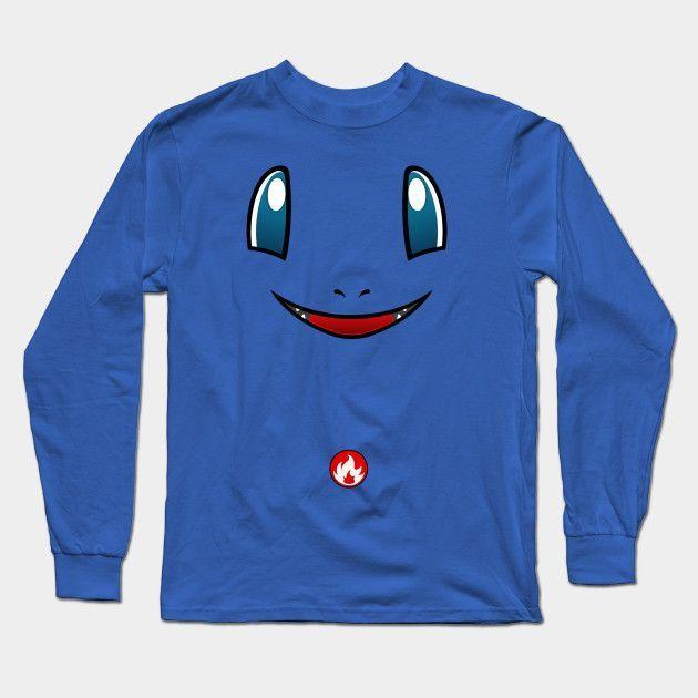 Pokemon Charmander Long Sleeve T-Shirt