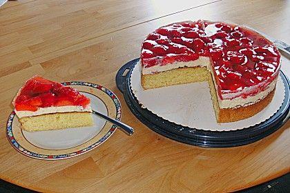 creme f r erdbeerkuchen s e s nde desserts cheesecake und cupcakes. Black Bedroom Furniture Sets. Home Design Ideas