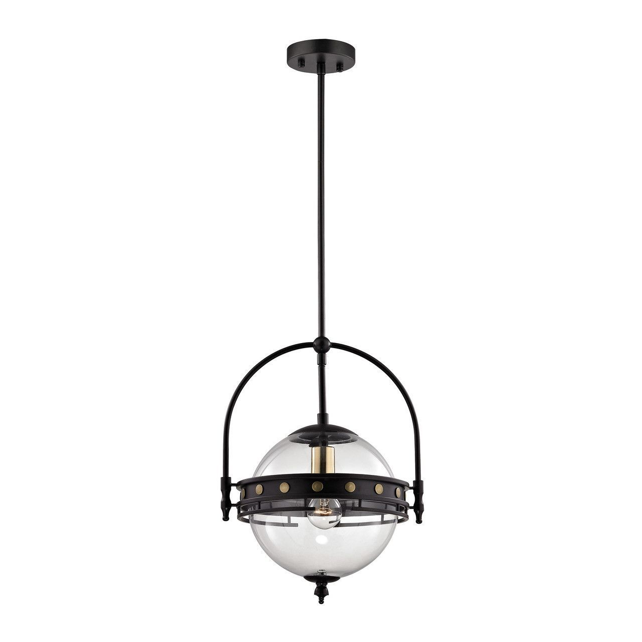 clear glass globe pendant light. Encompass 1 Light Pendant In Oil Rubbed Bronze And Clear Glass 14261/1 Globe I