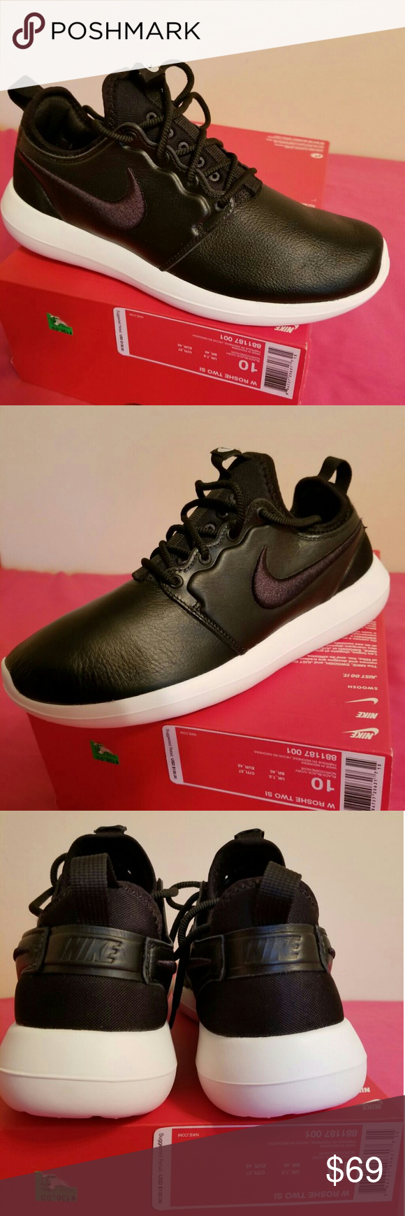 e850b3e242be New Nike Roshe 2 SI Blk Size 10 WOMEN   8 Men This Newest Nike Roshe ...
