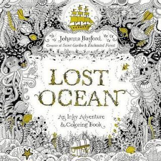 Review Of Lost Ocean By Johanna Basford My This Blockbuster Colouring Book Is