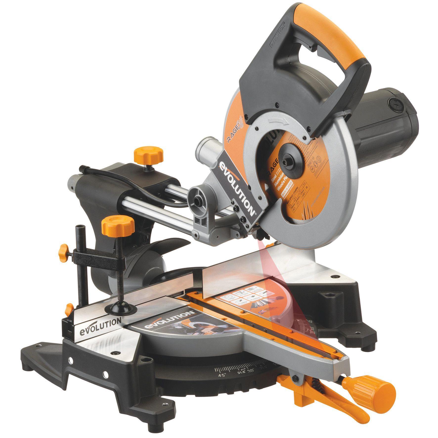 Evolution Power Tools Rage3fp 10 Wood Miter Saw