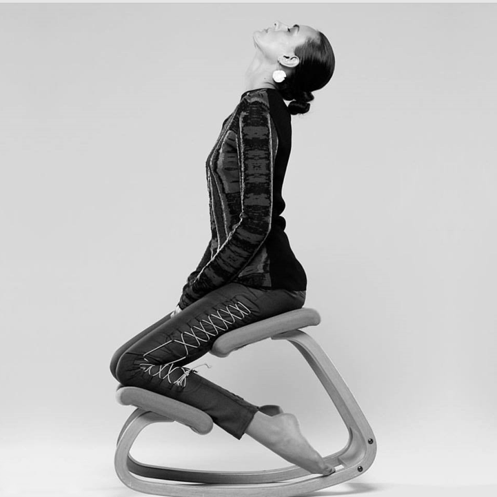 The Varier Variable Kneeling Chair. Totally Sensational