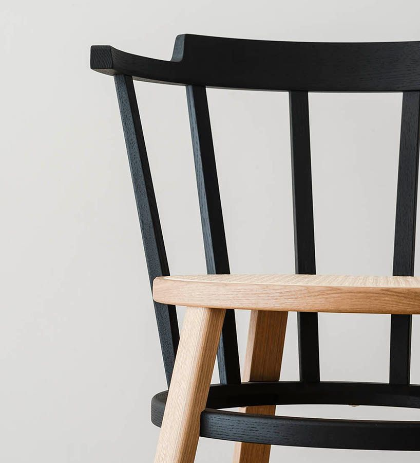 drill design offset windsor chair designboom Design Ideas 4