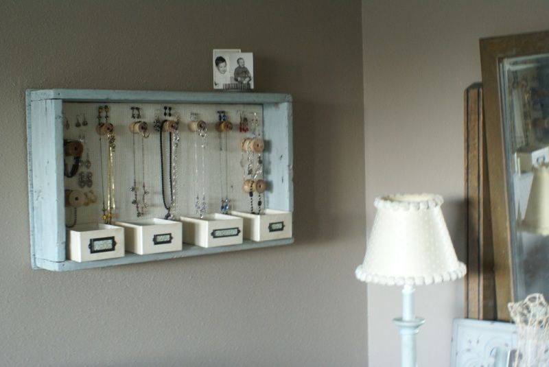 Like this one the best Diy Hanging Jewelry Organizer use drawer
