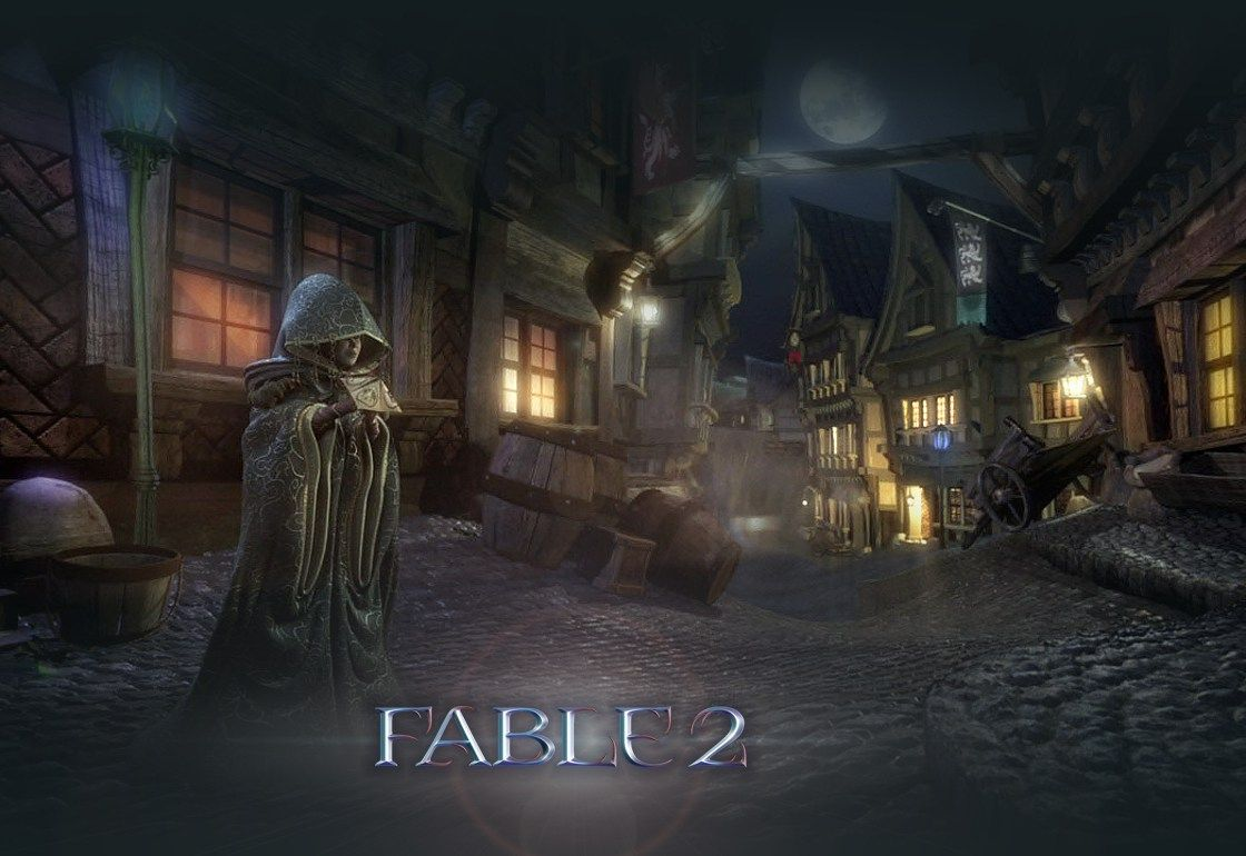 Night In The City Fable 2 Fable2 Vistalore Daily Pics Of Beauty