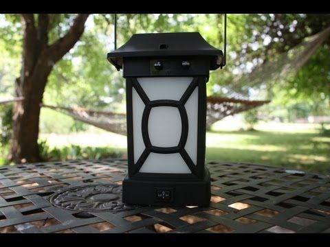 Nice Mosquito Repellent Patio Lantern And Portable Unit From ThermaCELL