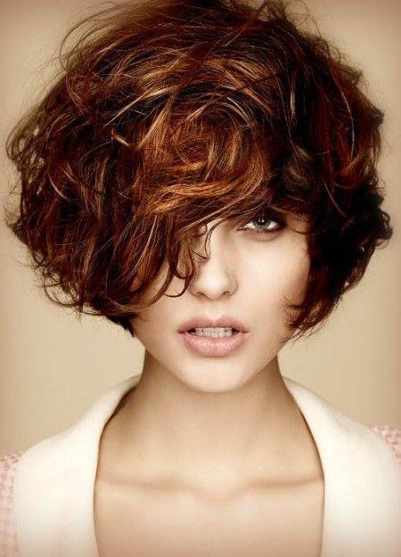 Short Hairstyle Ideas For Curly Hair 2016 Fall Hair Color For Brunettes Short Wavy Hair Short Hair Styles