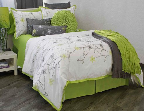 Exbury By Alamode New At Bedding Super Store Com Lime Green Bedrooms Bedroom Green Green Bedroom Design