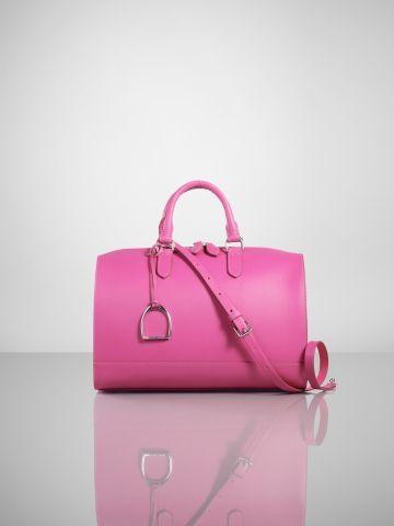 Vachetta Stirrup Boston Bag - Ralph Lauren Handbags Handbags - RalphLauren .com 9db6d96321e99