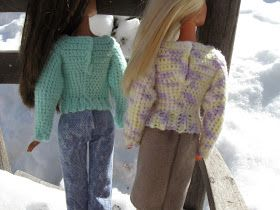 I have searched all over the web and while I have found some really great crochet patterns for Barbie, I haven't been able to find a basic...