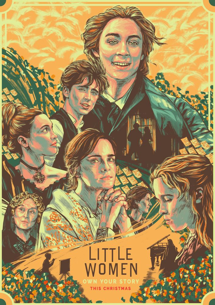 Little woman Classic poster by Chaz Bongco