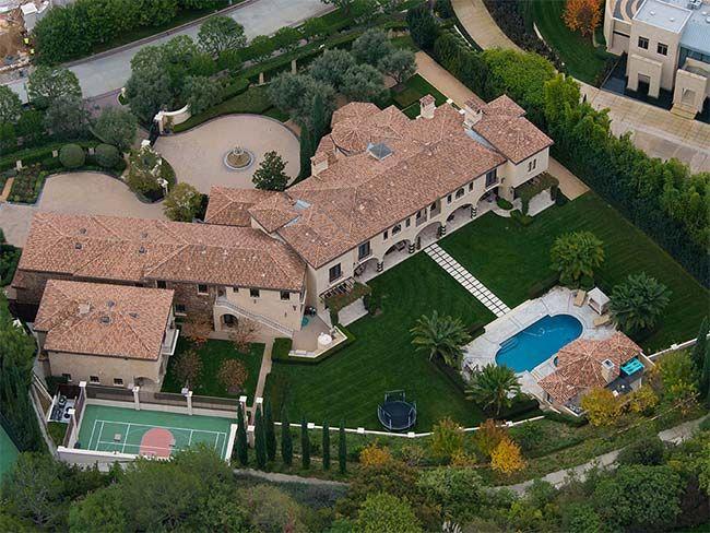 Barry Bonds Home Beverly Hills Mansion Beverly Park Mansions