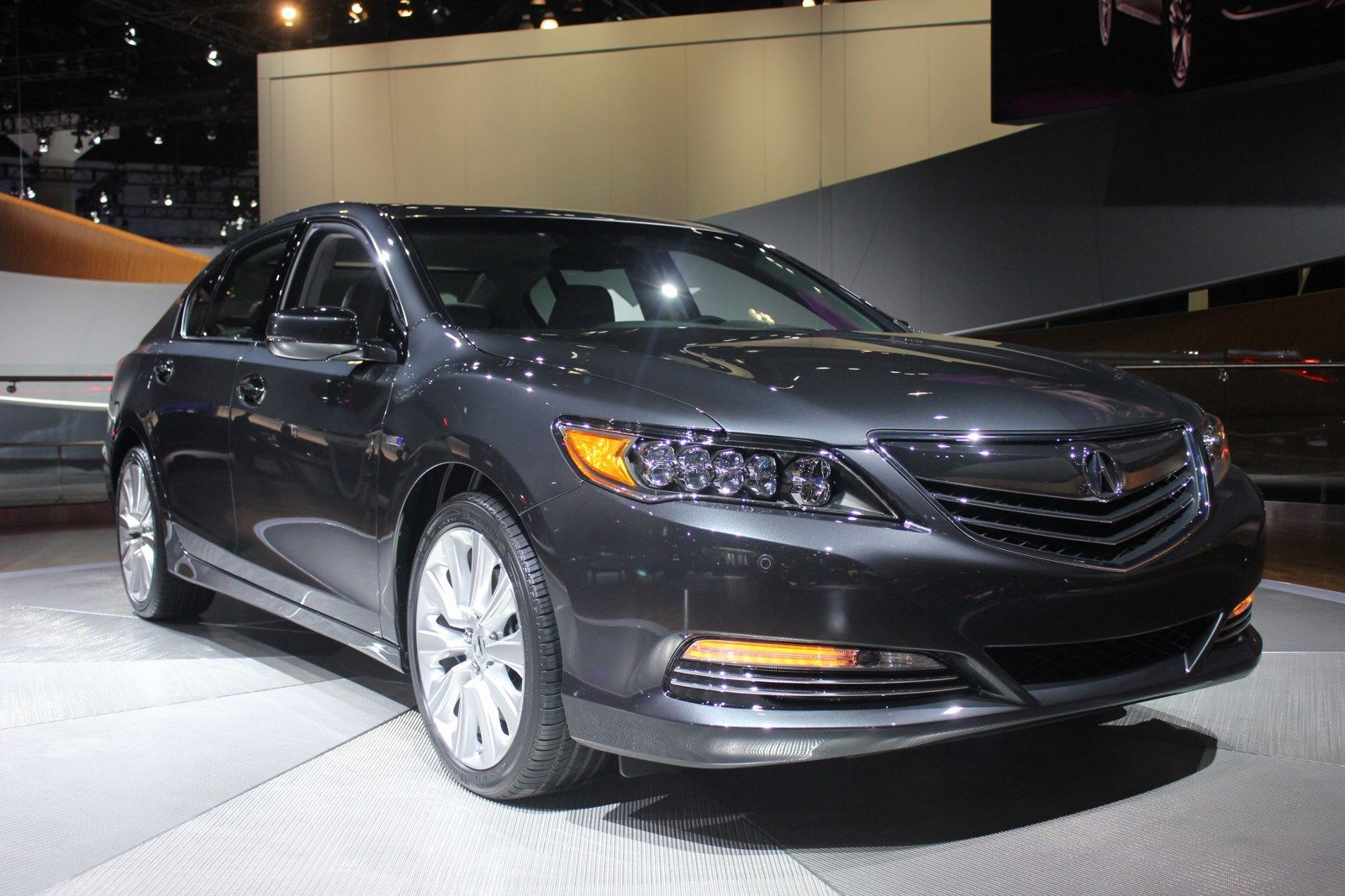 nice Acura RLX Sport Hybrid Car For Mobile Image Hybrid