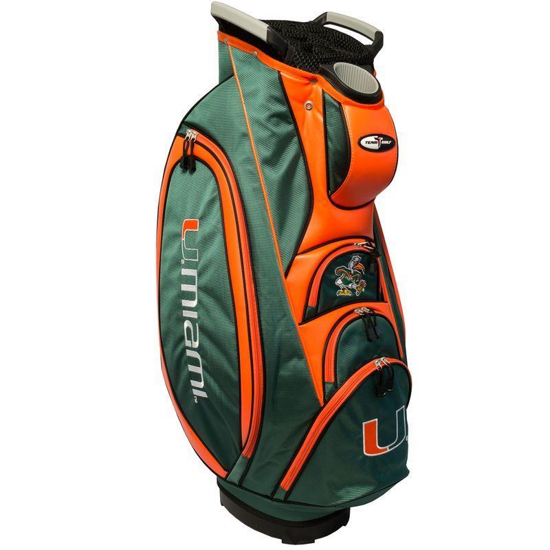845a158693da0 Miami Hurricanes Victory Cart Golf Bag