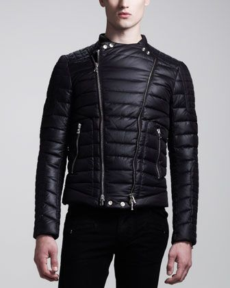 biggest selection discount shop finest fabrics Balmain Biker Puffer Jacket | Fashion Able Male | Jackets ...