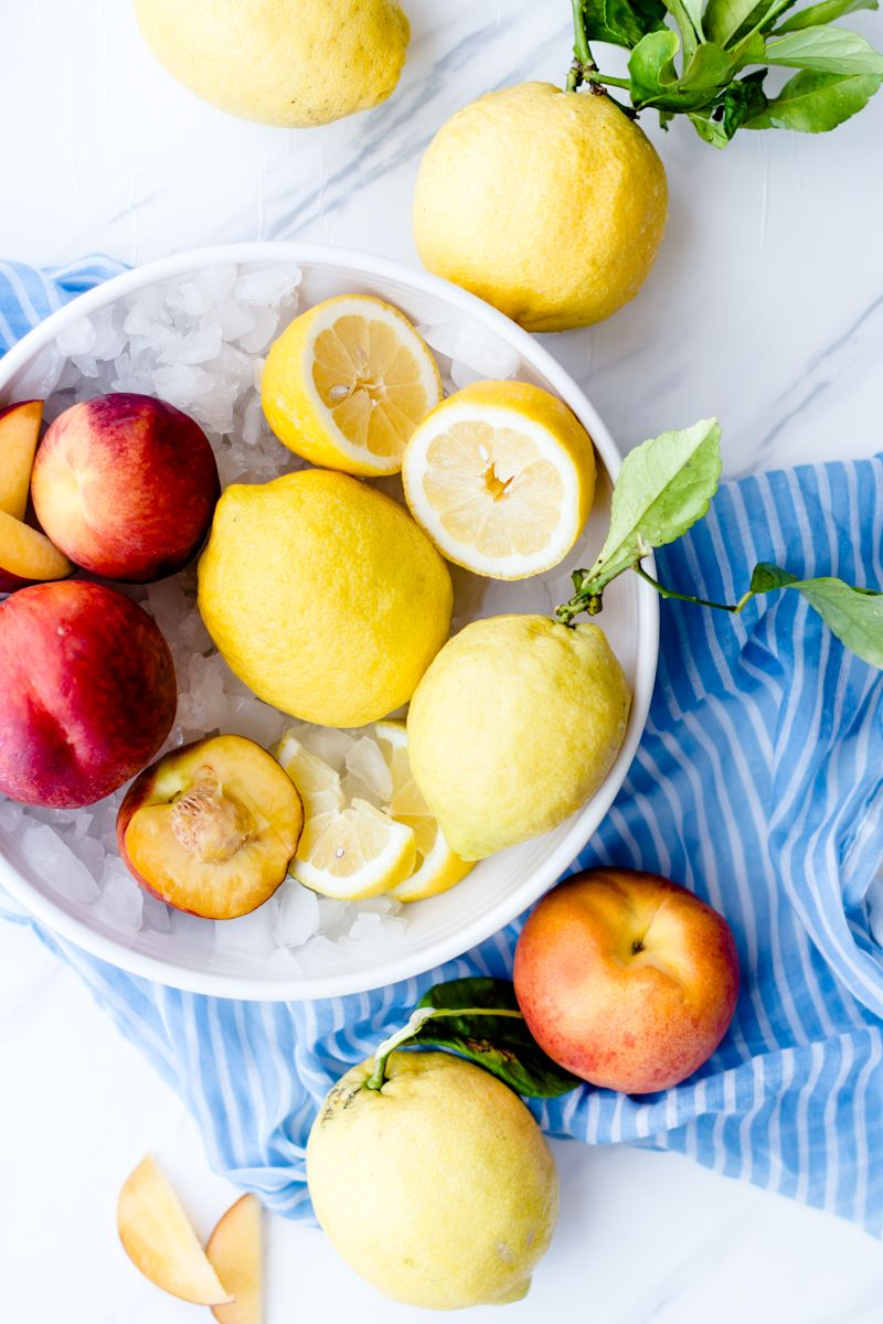 Peach Lemonade #flavoredlemonade
