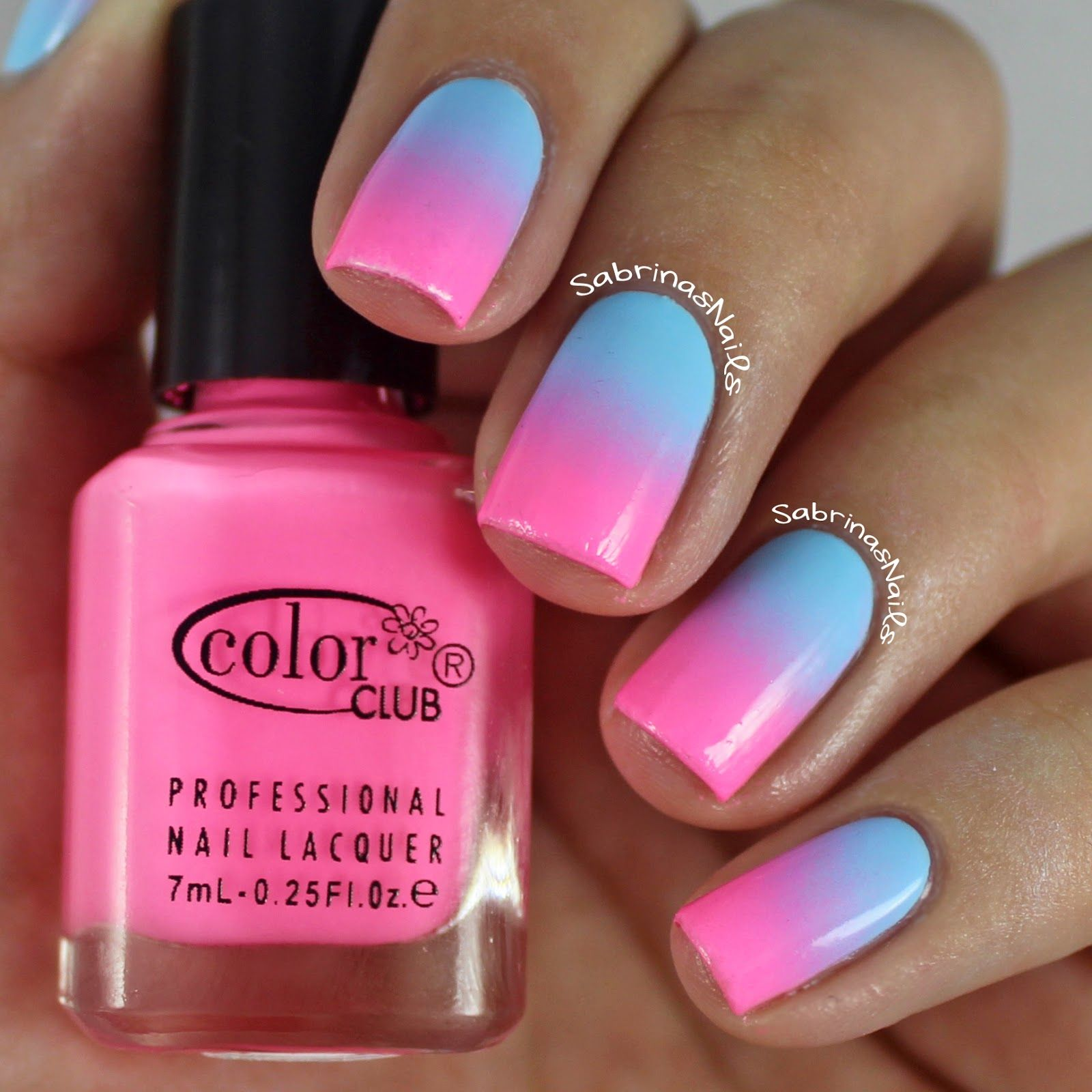 How to do Ombre nails with cotton balls (tutorial and photos ...