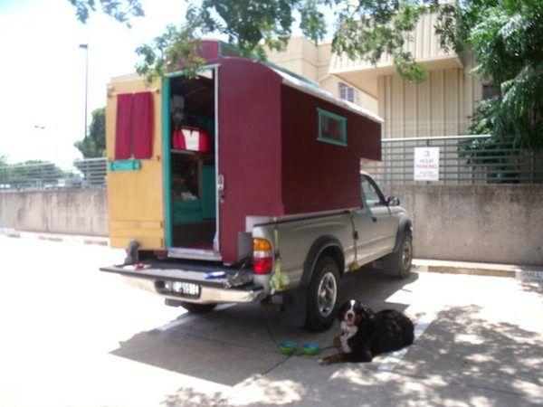 toyota truck bed micro camper 6 Custom Built Truck Bed Micro Camper that  Fits Toyota Tacoma. toyota truck bed micro camper 6 Custom Built Truck Bed Micro