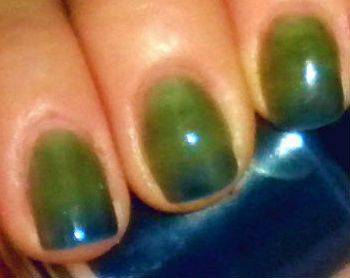Color Changing Nail Polish Mood Ocean Temperature Custom Blended Lacquer Oz Full Sized Bottle Via Etsy