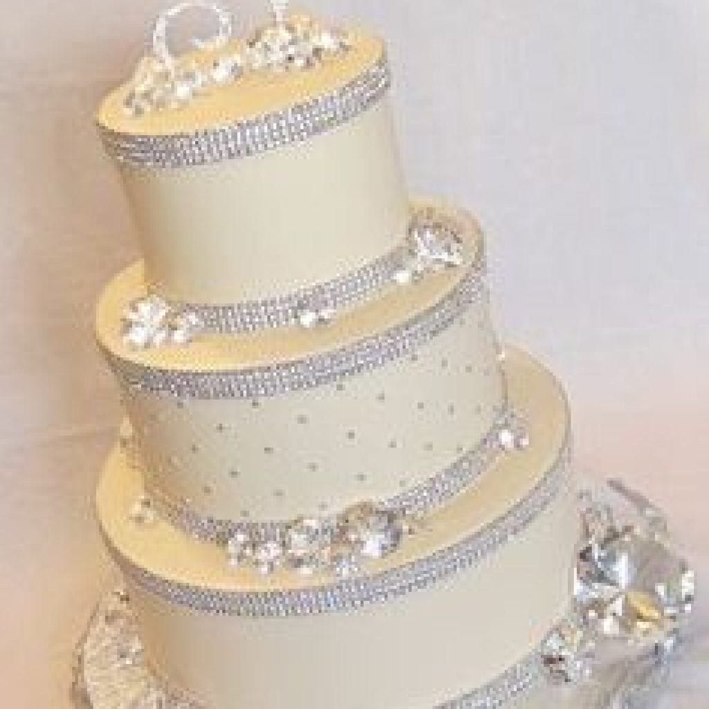 edible diamonds wedding cake wedding cakes pictures edible ribbon for 13896