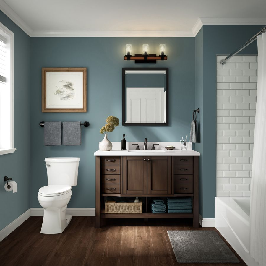 American Olean Starting Line Gloss White 3 In X 6 In Ceramic Subway Tile Common 3 In X 6 In Actual 6 In X 3 In Lowes Com Bathroom Decor Bathroom Makeover Painting Bathroom Durable paint for bathrooms