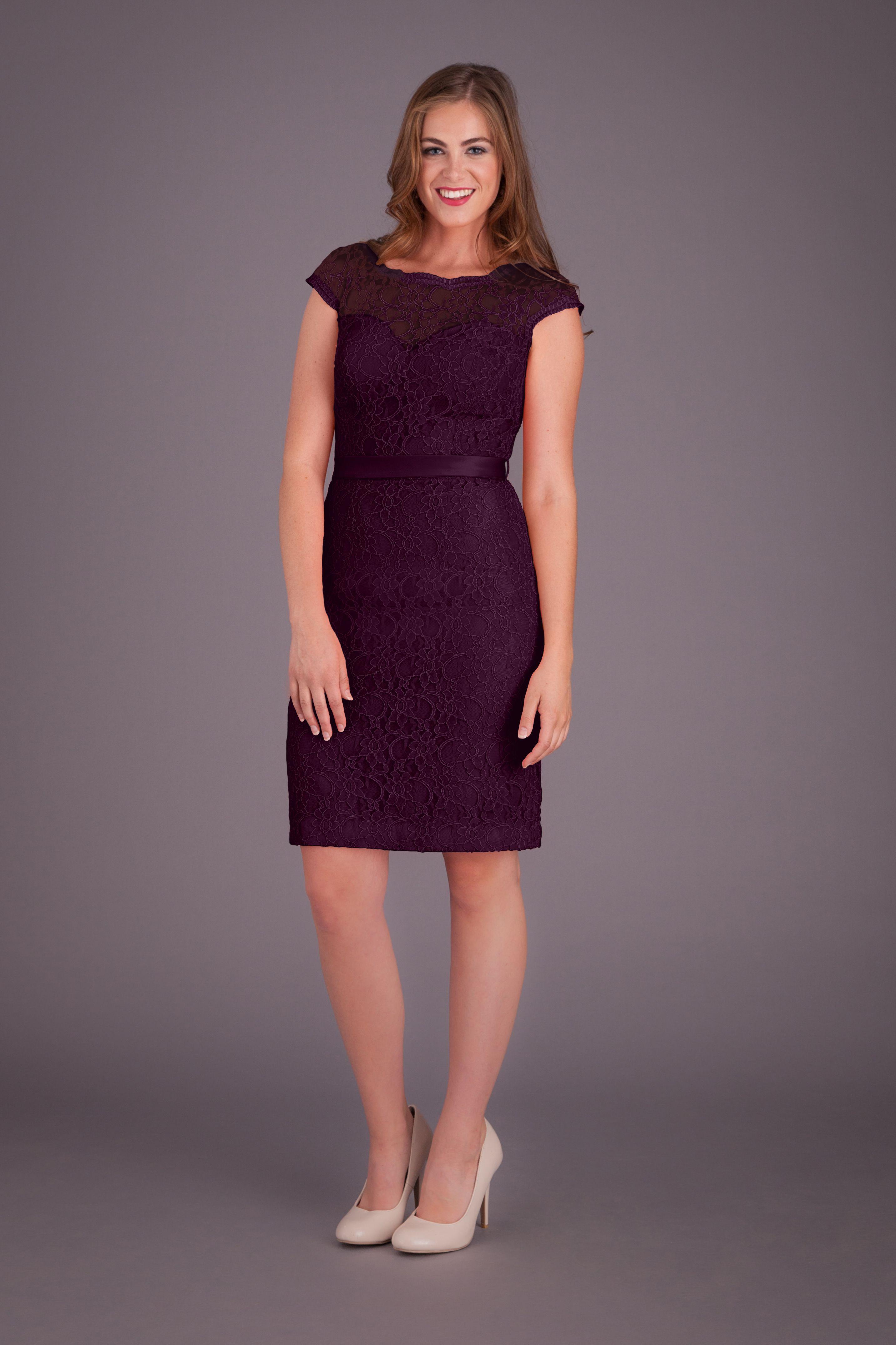 Harper purple lace bridesmaid dresses lace bridesmaids and