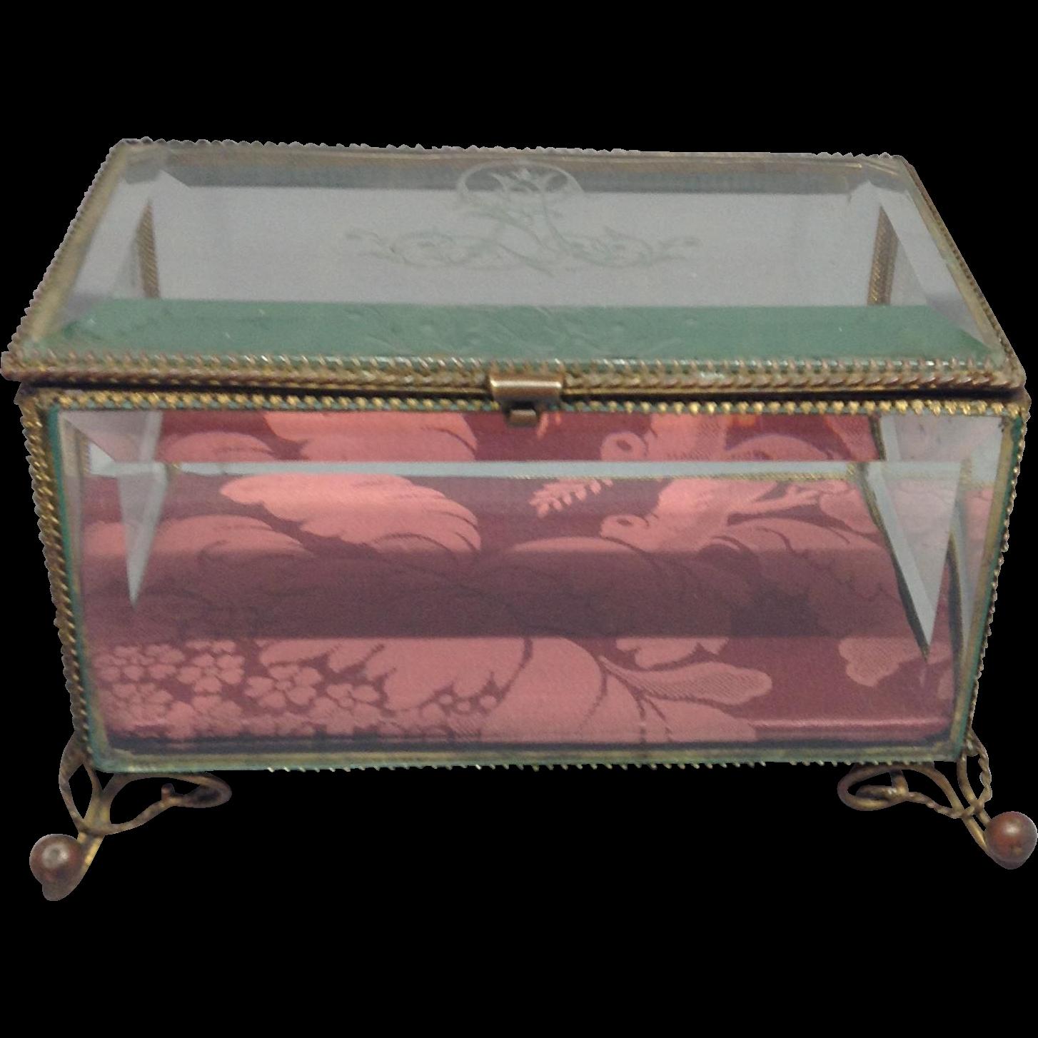 19th Century French Bride's Casket