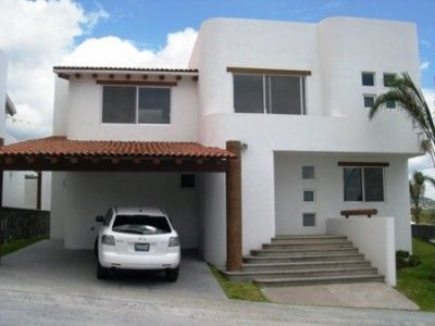 fachadas de casas de dos pisos de infonavit ms