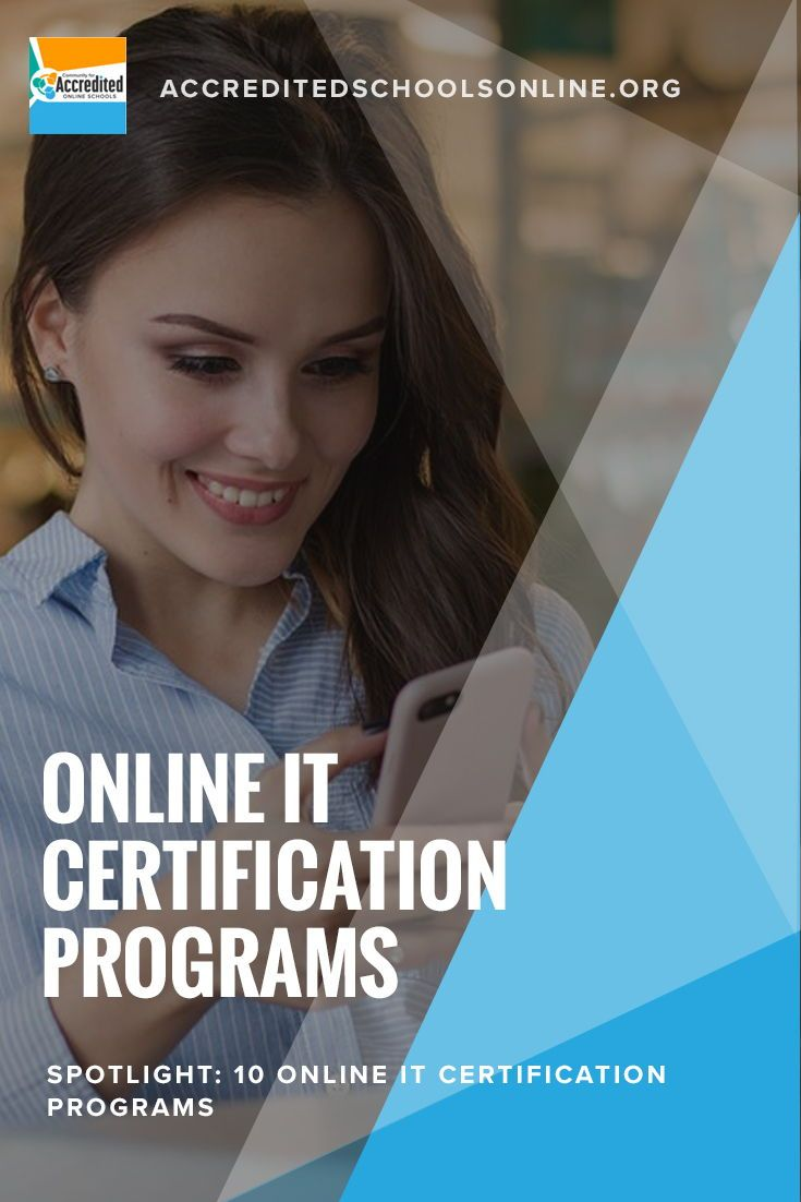 Search The Top Online It Certification Programs For Your It Career