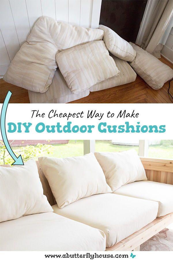 Cheap Diy Outdoor Cushions Diy Outdoor Cushions Sofa Cushions