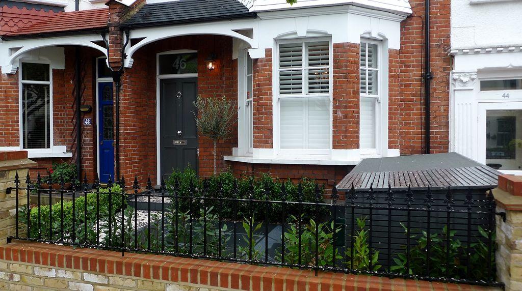 modern contemporary porch edwardian terraced house Google Search