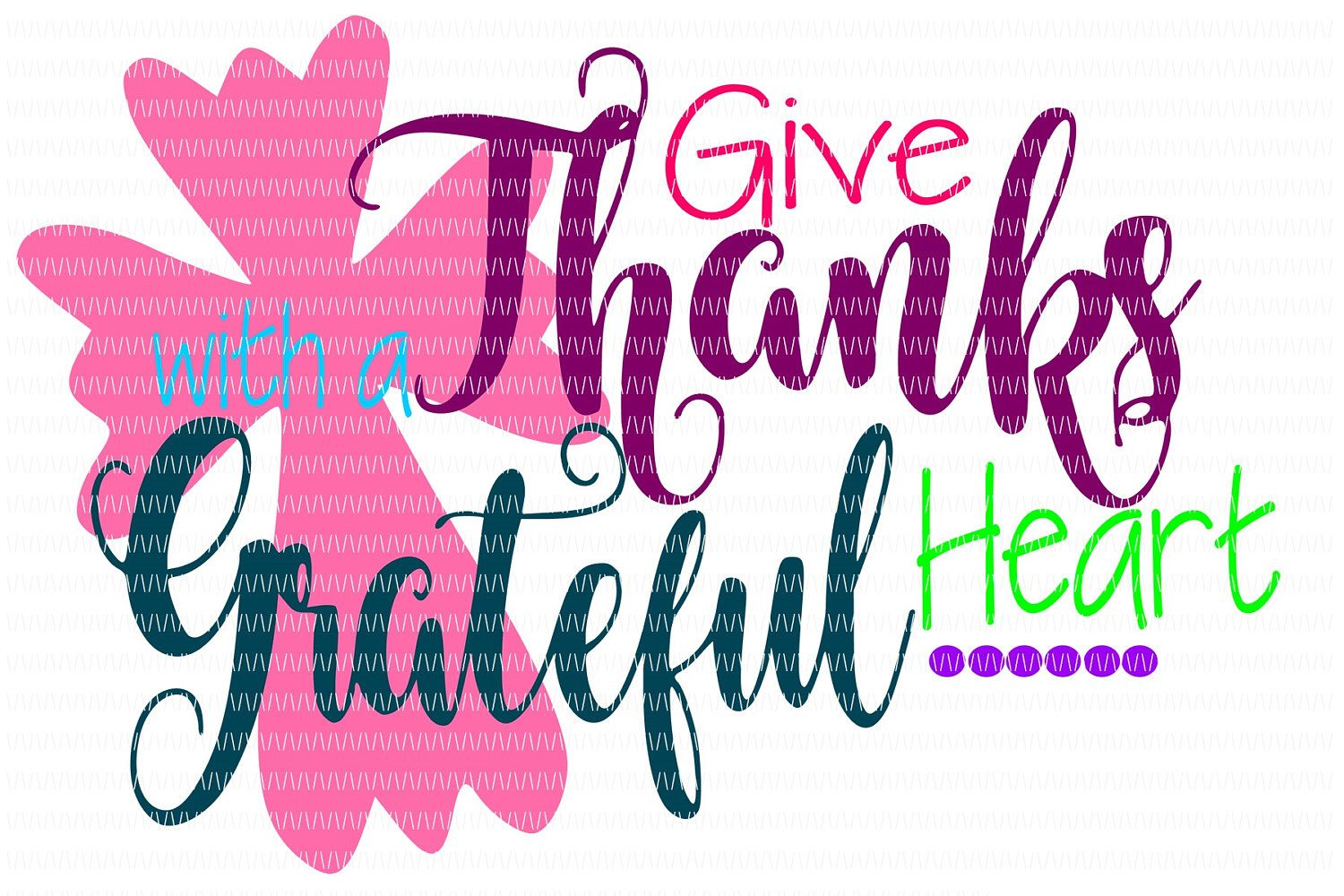 Embroidery Design Thankful Arrow Silhouette