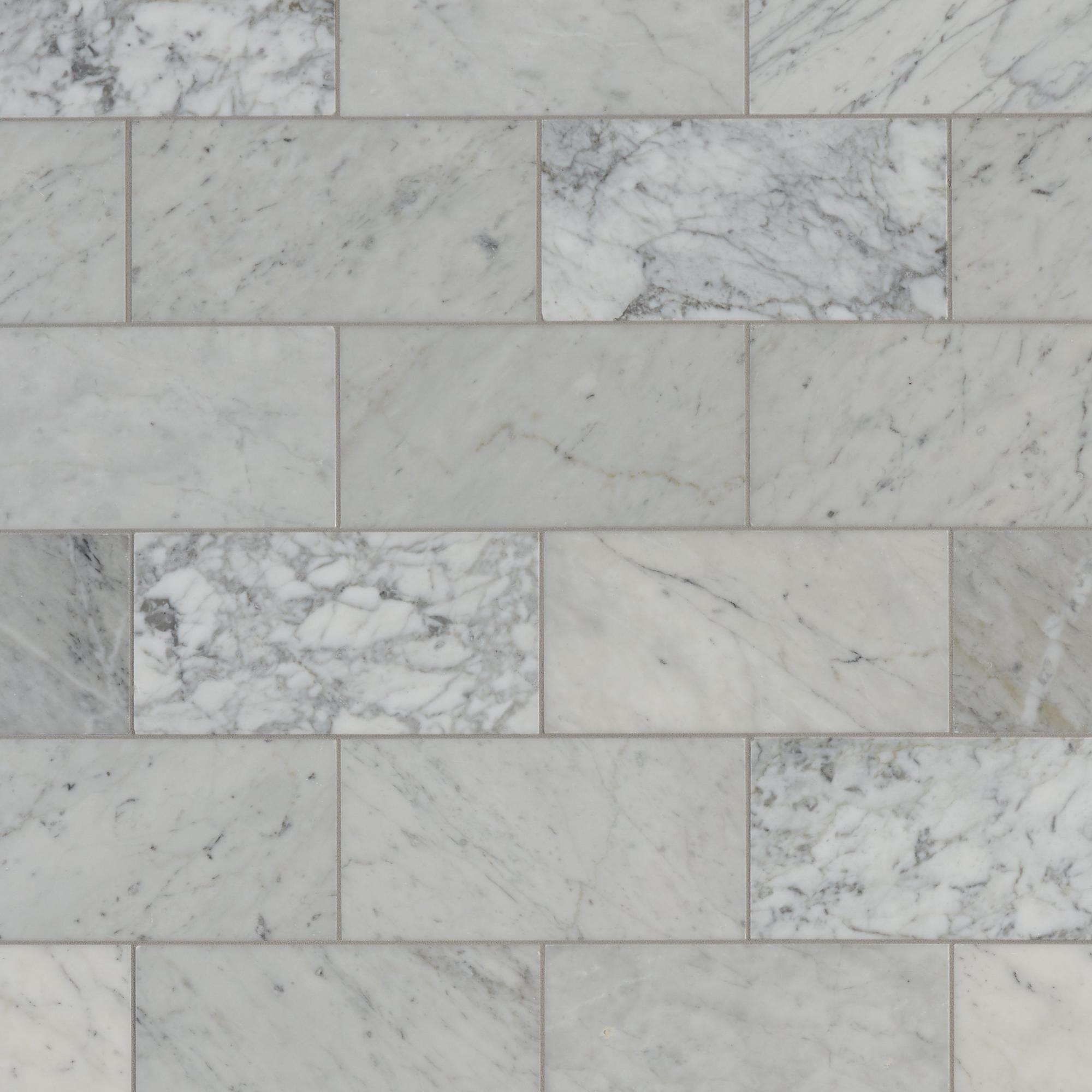 Bianco Carrara Marble Tile Carrara Marble Tile Polished Marble