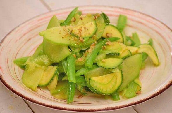 ensalada verde de dieta